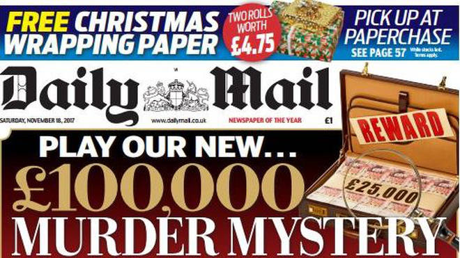 The Paperchase promotion in the Daily Mail