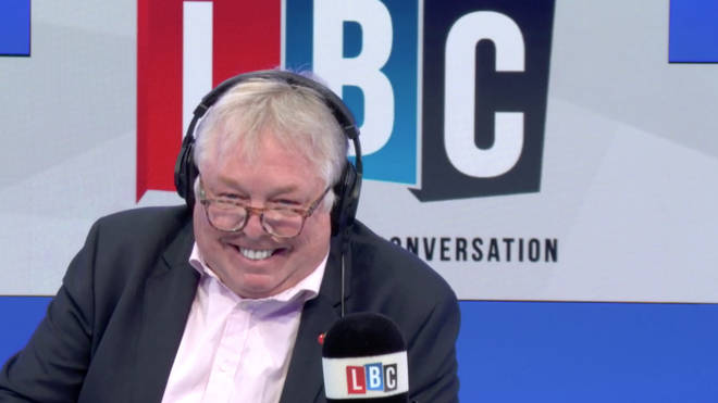 The call left Nick Ferrari in stitches
