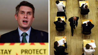 """Mr Williamson said the Government would be """"putting trust in teachers"""" after A-level and GCSE exams were cancelled for a second successive year"""