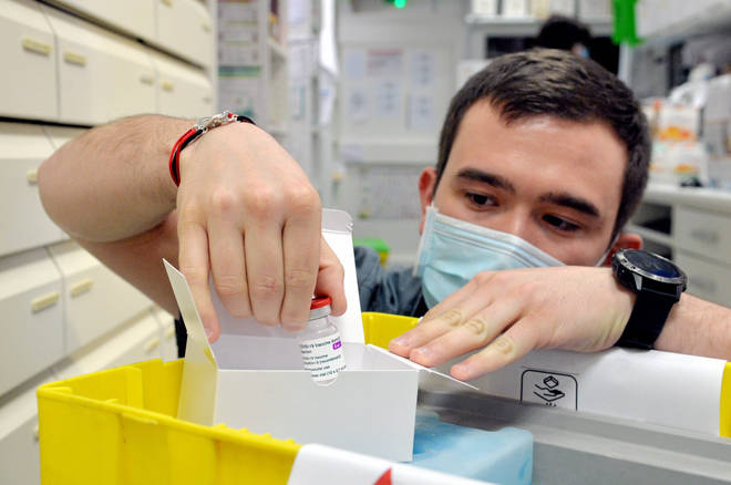 Pharmacies in France prepare to give AstraZeneca vaccines