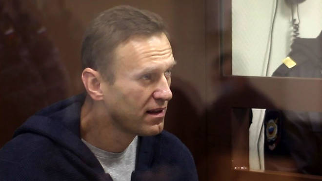 """The organisation did not disclose what Mr Navalny's offending comments were, but said they """"met the level of hate speech."""""""