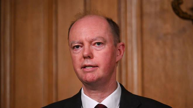 England's Professor Chris Whitty