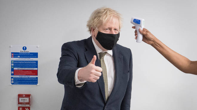 Boris Johnson has said the numbers are still too high to be able to consider accelerating the easing of rules