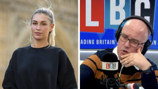 Zara McDermott opens up on LBC about the trauma of being a revenge porn victim