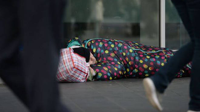 Most rough sleepers were believed to be male and over 26.