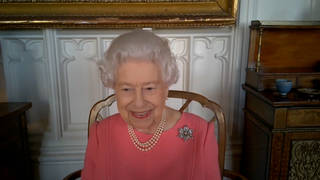 The Queen has urged those who are hesitant about the Covid vaccine to think about others