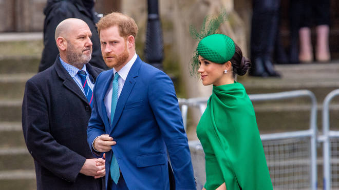 Prince Harry said he and Meghan will continue their roles in public life