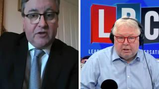 Justice Secretary Robert Buckland spoke to LBC's Nick Ferrari