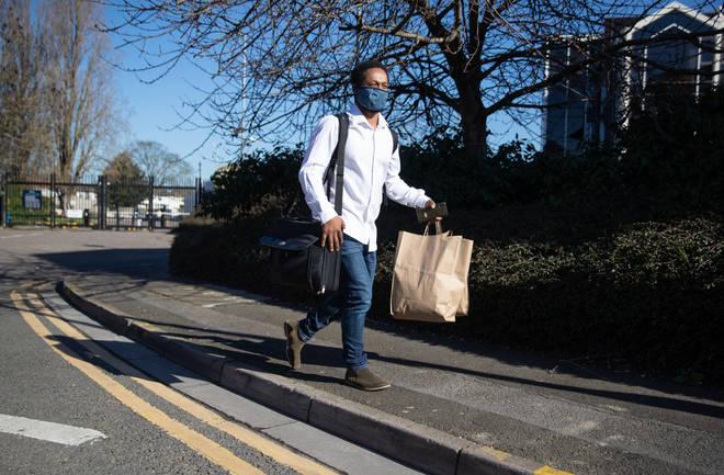 Father-of-three Theo Paulse, 39, who lives in Torquay, Devon, had to quarantine in the Radisson Blu Edwardian hotel near Heathrow Airport