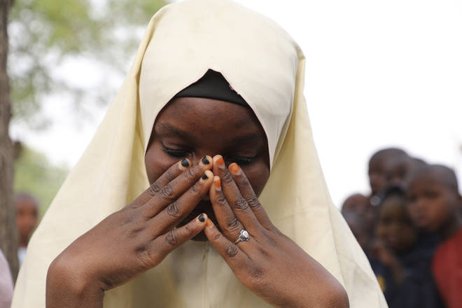 One of the students who was not kidnapped from the school in northern Nigeria on Friday