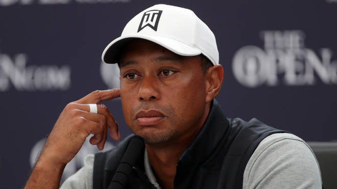 """Tiger Woods is said to be in """"good spirits"""""""