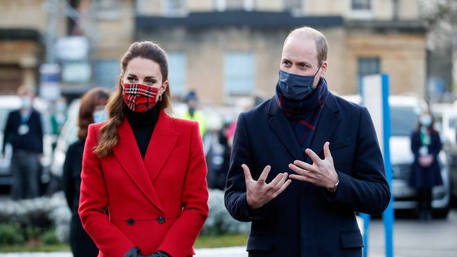 Kate and William said they want momentum behind the vaccine rollout to continue