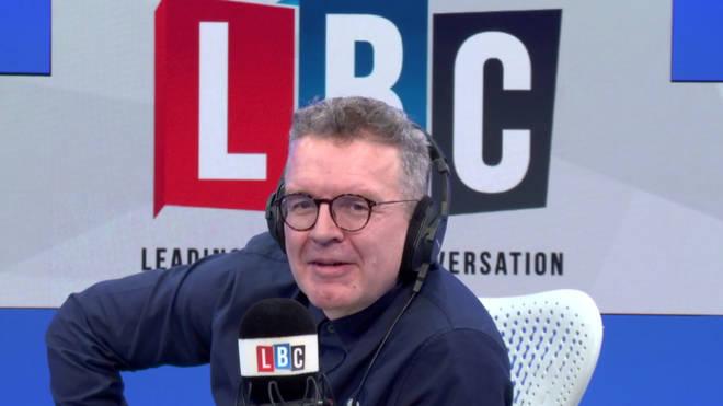 Tom Watson stood in for Nigel Farage on Thursday
