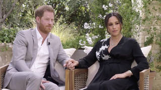 """Prince Harry has told Oprah he """"feared history repeating itself"""" with Meghan"""