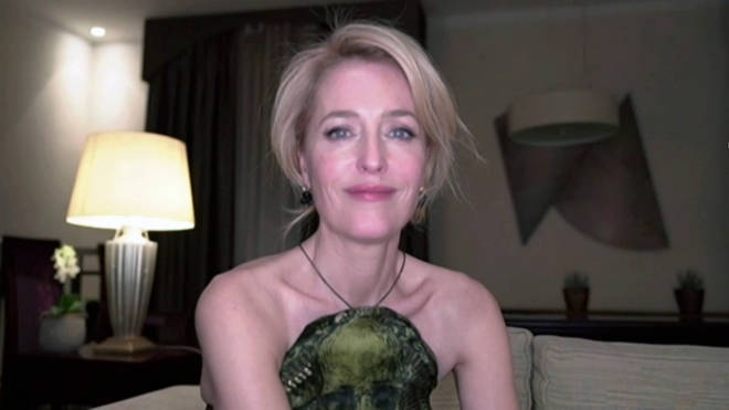 Gillian Anderson, winner of Best Performance by an Actress in a Supporting Role