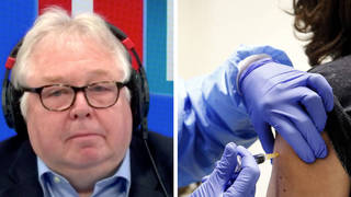 This caller told LBC he would only get the jab if he needed one for a holiday