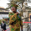 Ngozi Okonjo-Iweala arrives at the WTO headquarters in Geneva