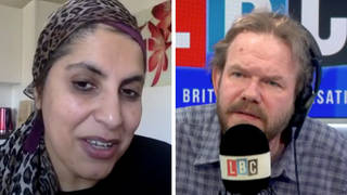 Dr Saleyha Ahsan spoke to LBC's James O'Brien
