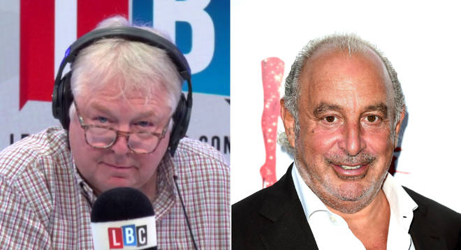 Nick Ferrari spoke to Sir Philip Green's biographer