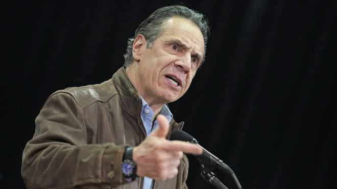 A third woman has come forward with allegations of offensive behaviour by New York Governor Andrew Cuomo
