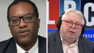 Kwasi Kwarteng speaks to Nick Ferrari