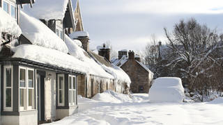 The UK could have snow in the coming weeks