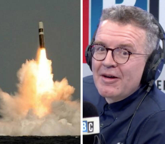 Tom Watson says he would be prepared to push the nuclear button