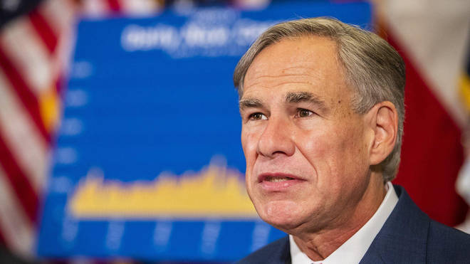 In Texas, Gov Greg Abbot moved to lift his state's mask-wearing mandate