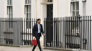Chancellor Rishi Sunak will make his Budget speech at 12.30pm on Wednesday to Parliament.