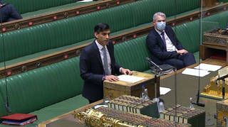 Rishi Sunak delivers his Budget in the House of Commons