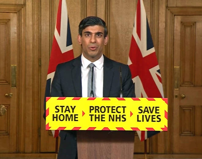 Chancellor Rishi Sunak gave a press conference on Wednesday