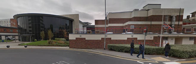 The arrest follows an investigation at Blackpool Victoria Hospital