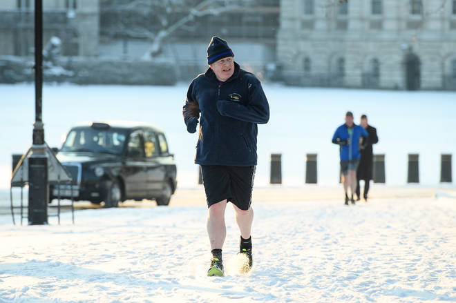 Prime Minister Boris Johnson, who has lost weight himself after becoming unwell with Covid-19, praised the idea