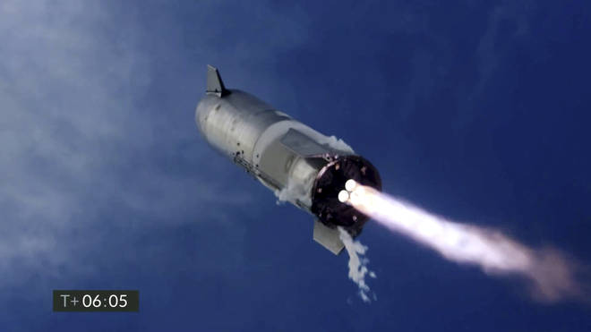 The failure occurred just minutes after SpaceX declared success