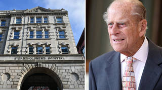 Prince Philip has had a successful heart procedure at St Barts