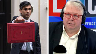 Nick Ferrari challenges Rishi Sunak over 2.4 million excluded from Budget