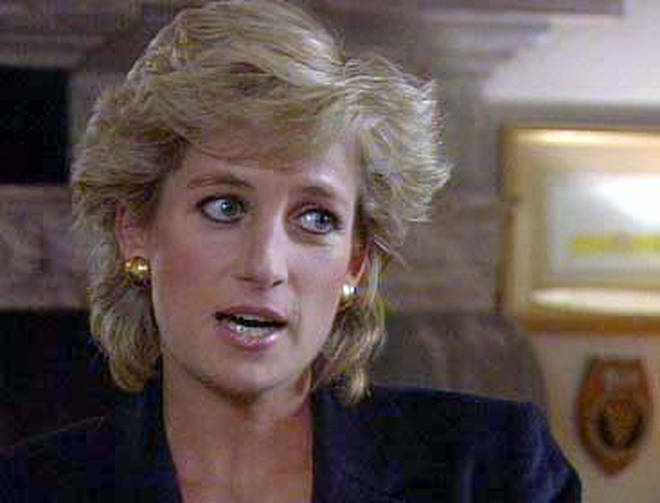 The BBC Panorama interview with Princess Diana was first aired in 1995