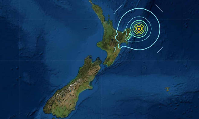 Another tsunami warning has been issued in eastern New Zealand