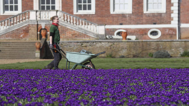 Shifts at Ham House in London have already been changed to address unworkable temperatures in the summer