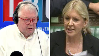 Nick Ferrari challenged Nadine Dorries on a pay rise for NHS staff