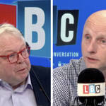 Nick Ferrari and TfL Commissioner Andy Byford