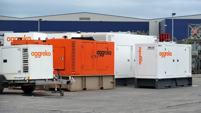Some Aggreko products