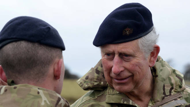 Gavin Hillier had been awarded a Long Service and Good Conduct medal by the Prince of Wales