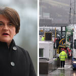 """DUP leader Arlene Foster told Swarbrick on Sunday there was a """"real need to replace the protocol""""."""