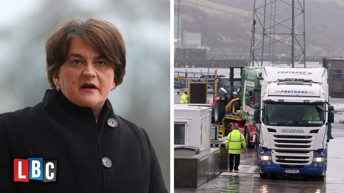 NI Protocol has been 'absolutely devastating' for the region, Arlene Foster says
