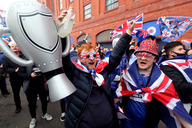 It is the first time Rangers have won the title since 2011.