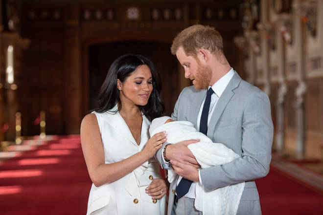 Harry and Meghan's first child, Archie, was born in May 2019.