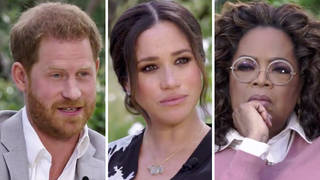 Harry and Meghan spoke to Oprah in a two-hour long interview.