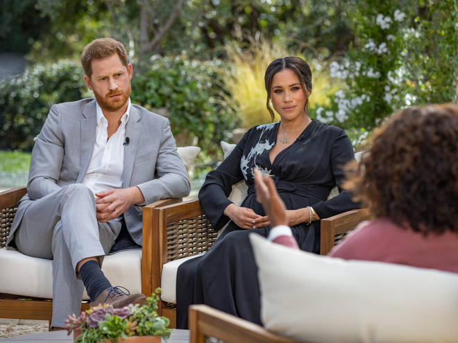 Meghan Markle and Prince Harry have revealed royal discussions about their son's skin colour