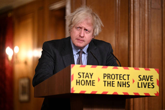 Boris Johnson is hosting the government's coronavirus press briefing later today